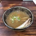 麺工房 武 - 特製豚骨魚介つけ麺のつけ汁