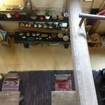 ティースペース 茶楽 - 二階から 下を眺めて〜〜