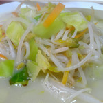 三陽軒 - 「チャンポン」野菜たっぷりの具