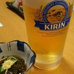 とまり木 - 生ビール&お通し