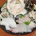 南海 - 料理写真:刺身盛り合わせ
