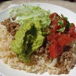 タコデリオ! - Taco Rice with 60yen Avocado Topping