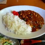 ぽっぽ - 料理写真:季節の野菜カレー