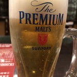 中華料理 銀河楼 - 生ビール