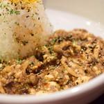 KITCHEN BAR 新目黒茶屋 - 豆腐ときのこ キーマカレー@税込1,000円:寄ってみました