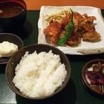 アルバータ食堂 エキーマ今津店 - 日替わり定食