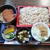 生蕎麦 海老家 - 料理写真:ミニカツ丼のセット(もり)800円