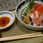 季節料理 海津 - 料理写真:桜鱒刺身