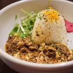KITCHEN BAR 新目黒茶屋 - 豆腐ときのこ キーマカレー@税込1,000円
