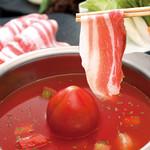 豚料理専門店 銀呈 - 6月〜9月季節限定 トマト鍋