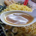 らあめん 福丸 - スープ
