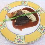 ビストロ・ドゥマン - 料理写真:飛騨牛頬肉、キッシュ、筍、グリーンアスパラ。      2018.05.19