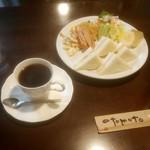 ブラウンカン - 料理写真:モーニングBセット 600円