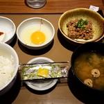 やよい軒 - 納豆朝食:370円