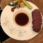 86377867 - カンガルー肉のロースト♡