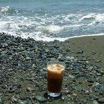 鶴亀屋春慶 - アイスコーヒー