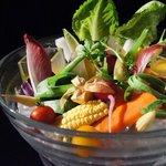テイストシックス - 看板メニュー!!特選野菜のバーニャカウダー☆いろんな野菜を楽しんで♪♪