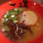 博多麺屋 一連 - プレオープン時のラーメン_2010/07/25