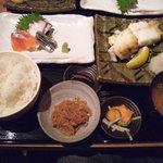 8638635 - 銀ムツ塩焼き定食でございます(2011.07)