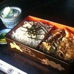 そば舗砂場 - 料理写真:天丼セット¥1,100