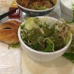 ホテル関西 - 茶碗にカレー
