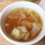 神戸イタリアン&ワイン クレイド - スープ