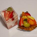 ヤマナカヤ - フレッシュフルーツのタルトとムース
