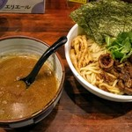 オリオン食堂 - 料理写真:生鮮スルメイカ イカ煮干しつけ麺 950円