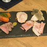 ビストロ ノアキ - 前菜5種盛合わせ