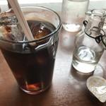 大衆ビストロ原田屋 - アイスコーヒー(100円)