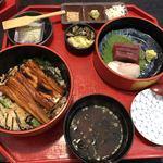 日本橋 玉ゐ - お刺身と穴子ランチ@1,000円