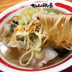 ちゃんぽん亭総本家 - ちゃんぽん  野菜大盛り    スープは和風でサッパリです♬