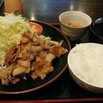 焼肉苑 うまい - 焼肉定食(米の娘ぶた)