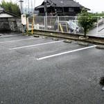 麺屋 たけ井 - 駐車場の一部