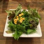 NIVAL - 料理写真:セットのミニサラダ('18/05/24)