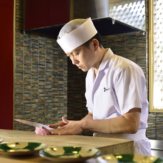 松山相三氏…若水の流れの如く留まる事ない新しき食への探求心。
