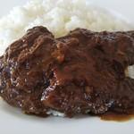 肥前屋ランドール - 肉の繊維を感じるカレールー