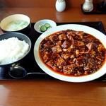 86395585 - 麻婆豆腐定食800円
