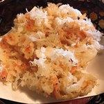 蕎麦処 多賀 - 桜海老かきあげ天ぷら