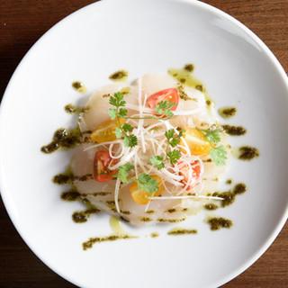 フランス料理店出身のシェフによる新中華料理の世界を気軽に