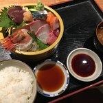 黒川 かきのすけ - 刺身特盛定食