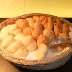 ダイアモンドターン - 食べやすいサイズのパン!味もなかなか!