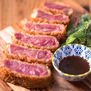 2018肉フェスタinNAHAでも大人気だった牛レアかつ!