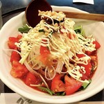 満月 - 冷菜トマトらーめん