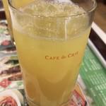カフェ・ド・クリエ - 100%オレンジジュース レギュラーサイズ