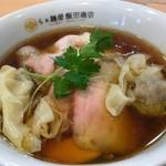 86404928 - わんたん入り醤油チャーシュー麺(1,400円税込)