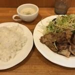 キッチン水野 - ランチの 生姜焼き  750円
