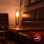 カフェ&ブックス ビブリオテーク - 内観写真:2月より全面禁煙とさせていただいております。