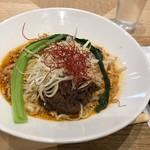 春水堂 - ◆麻辣担々まぜ麺・・温かい汁なし麺。