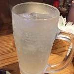 焼鳥屋 てっちゃん - ドリンク写真:レモンサワーです。